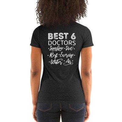 Best 6 Doctors - Ladies' Short Sleeve T-shirt