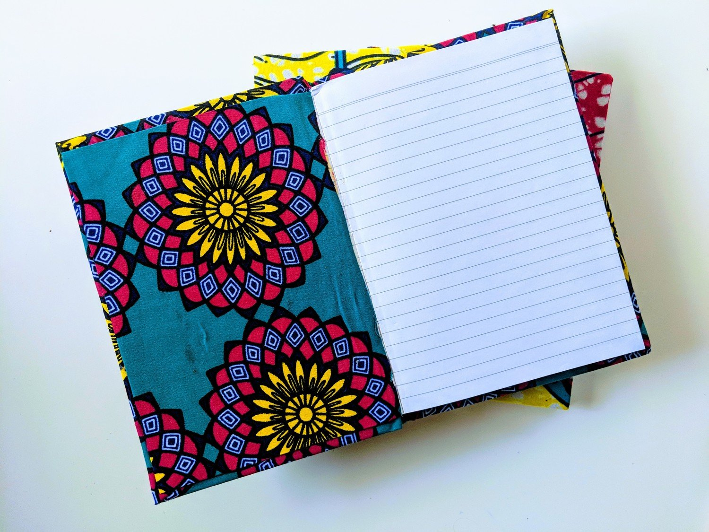 A6 African Print Notebook