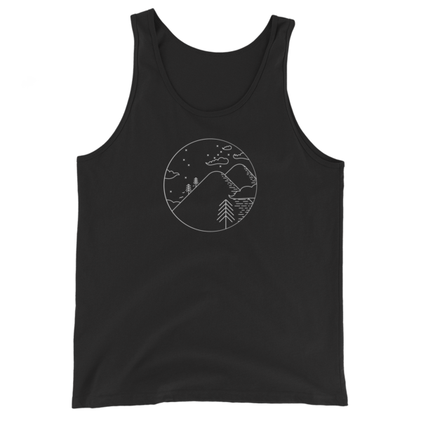 Steep, White and Deep - Unisex Tank Top