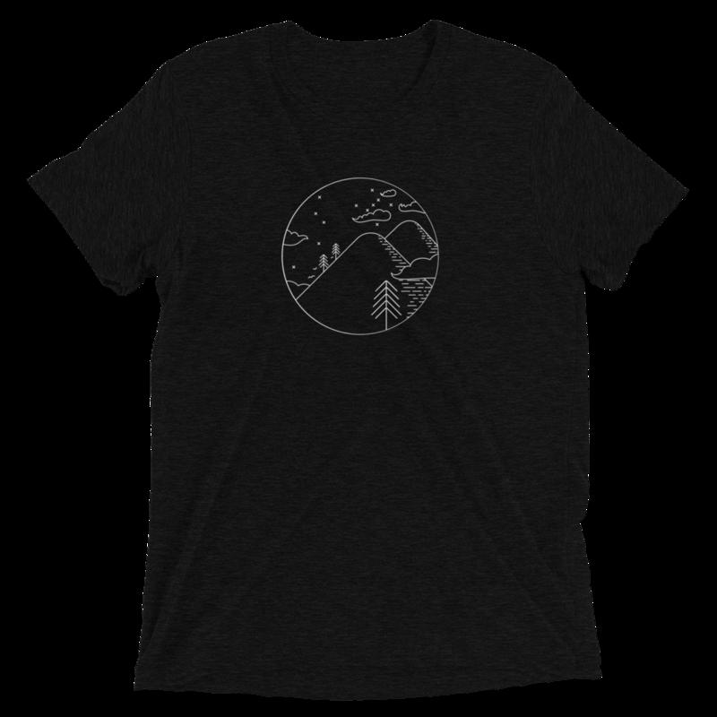 Steep, White and Deep - T-shirt