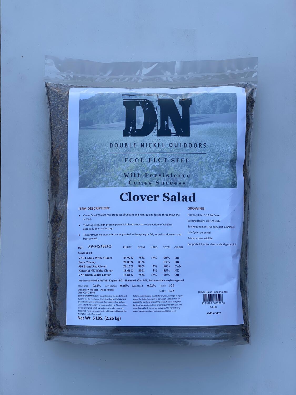 Clover Salad Seed 5lb Bag