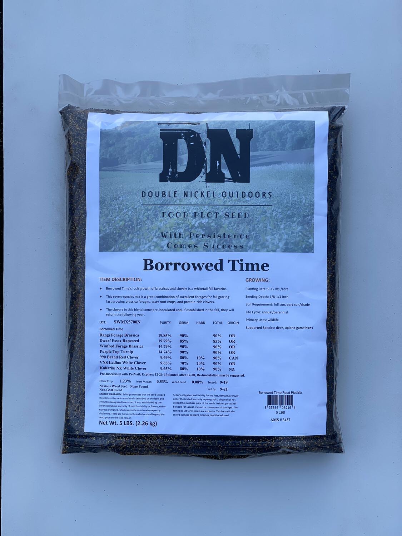 Borrowed Time Seed 5lb Bag