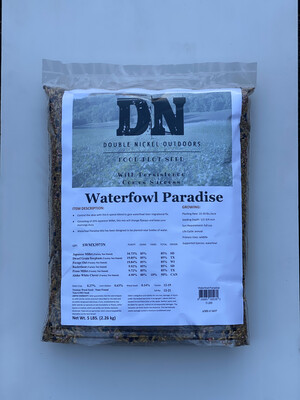 Waterfowl Paradise Seed 5lbs