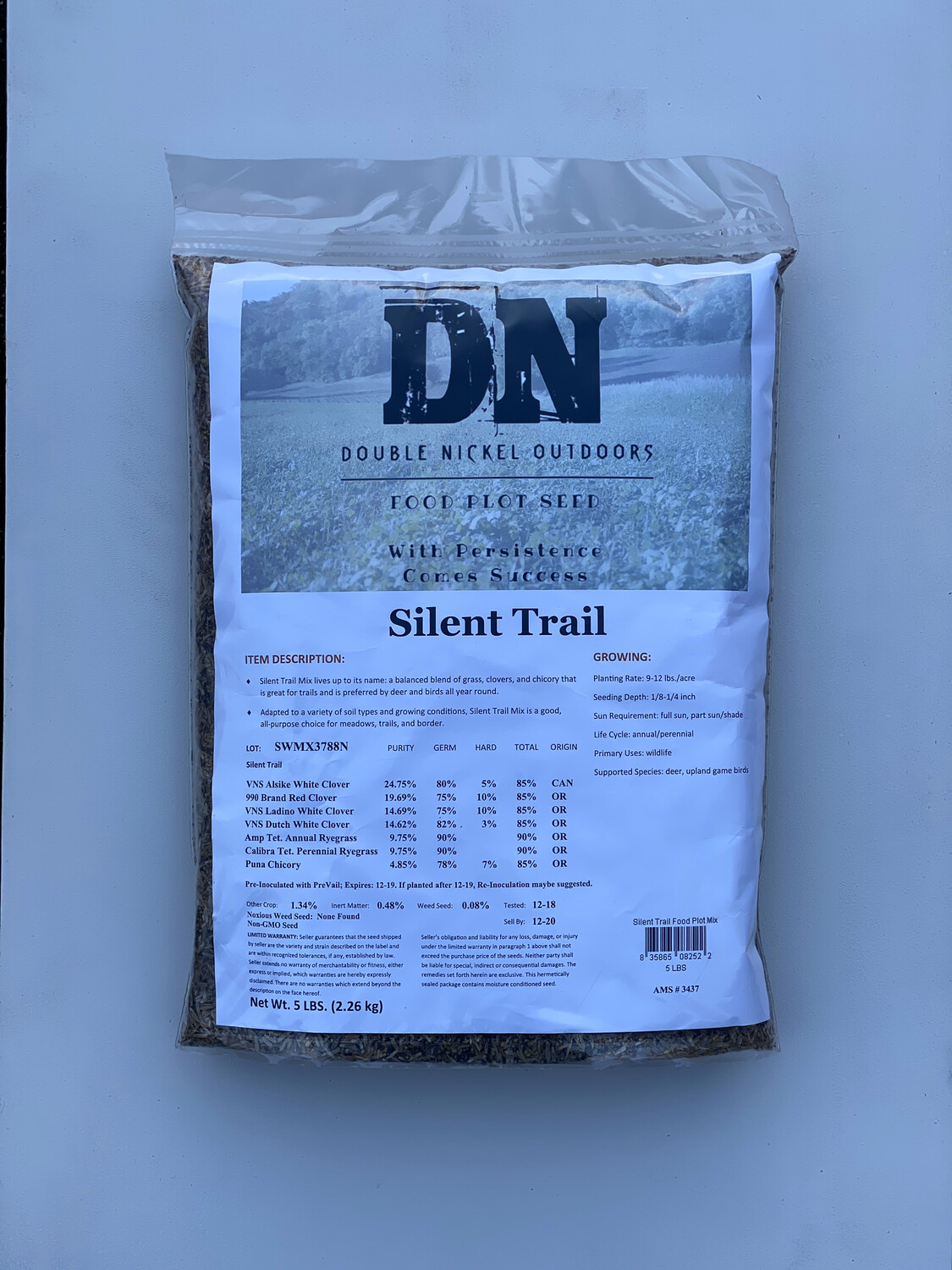 Silent Trail Seed 25lb Bag