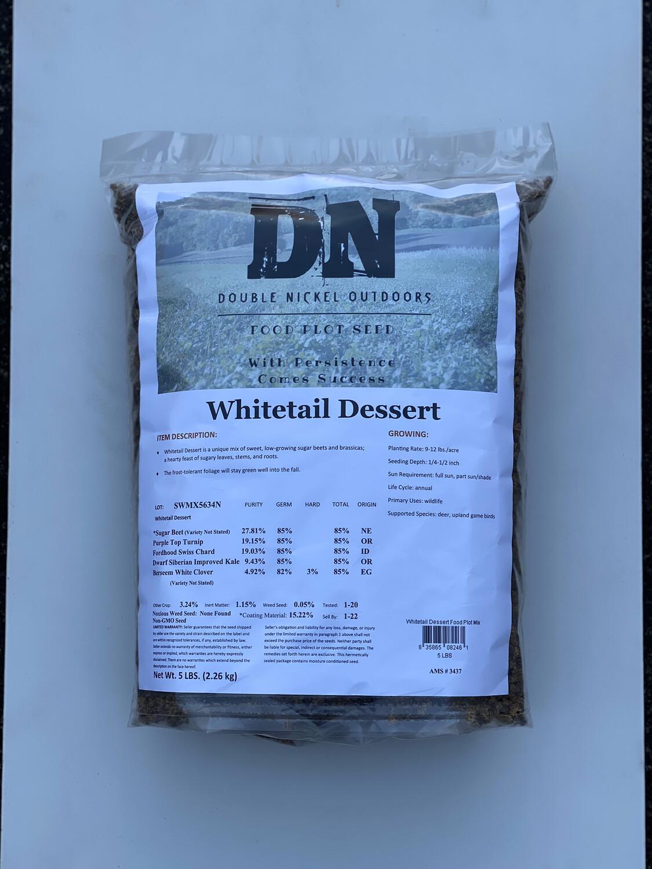 Whitetail Dessert Seed 25lb Bag