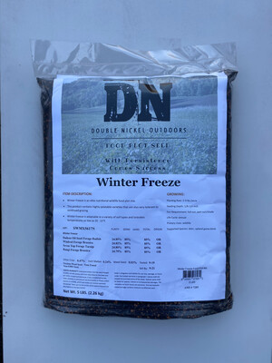 Winter Freeze Seed 25lb Bag