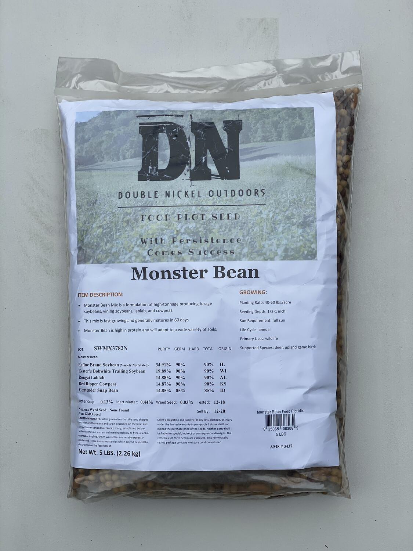 Monster Bean Seed 25lb Bag