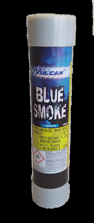 Blauwe Rookstaaf met Strijkkop