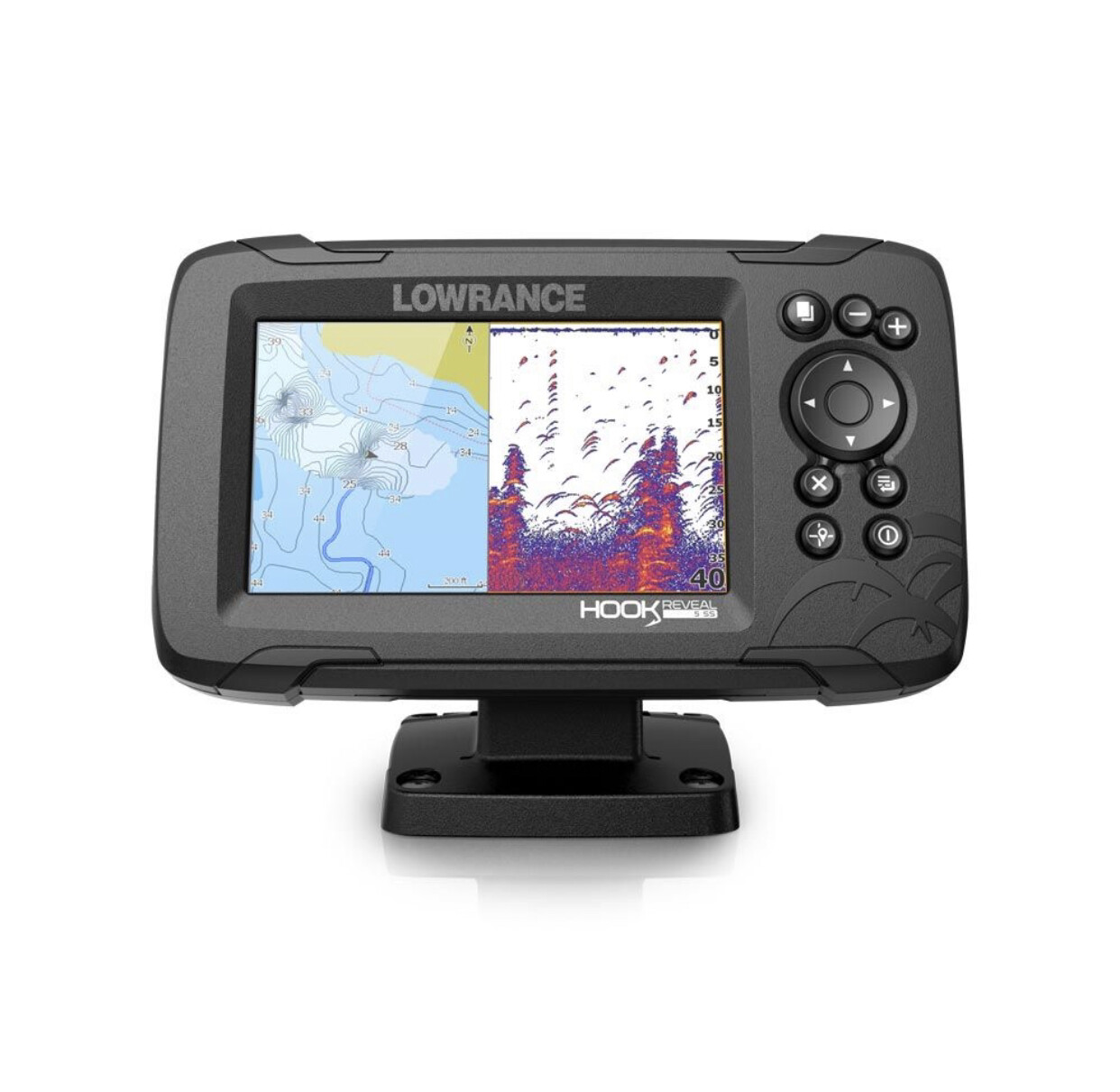Lowrance Hook Reveal 5 Plotter