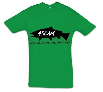 430AM TROUT TEE (River Valley Green)