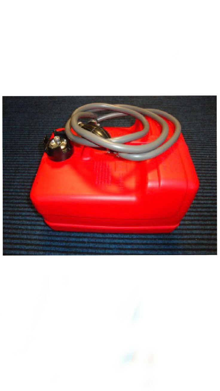 12 Litre External Fuel Tank And Fuel Line