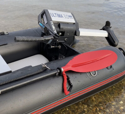 Xcape 4.0 Boat & Haswing Ultima 3.0 Electric Motor Package