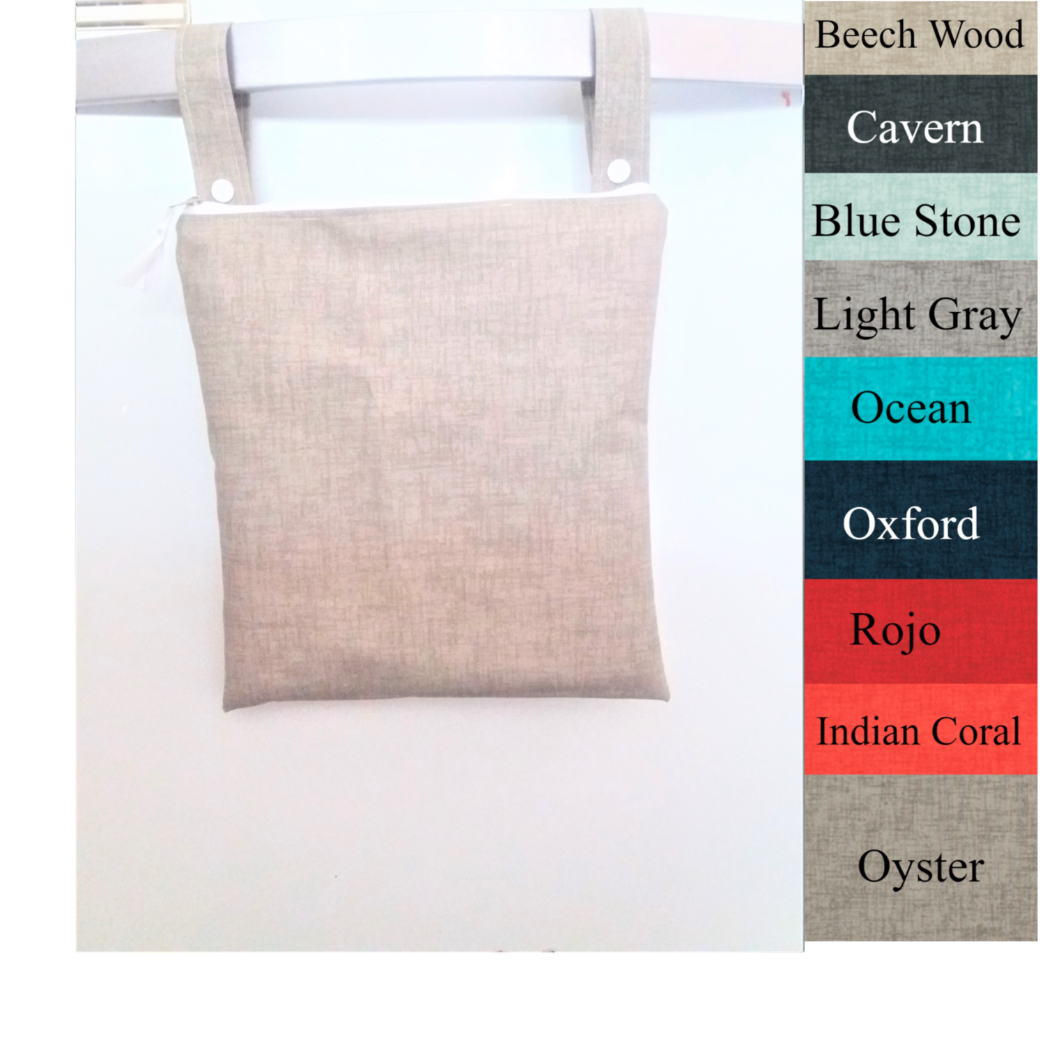 Tonal Wet Bag-Customization and Personalization Available