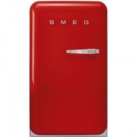 SMEG - 130L, 55cm Fiery Red Retro Bar fridge