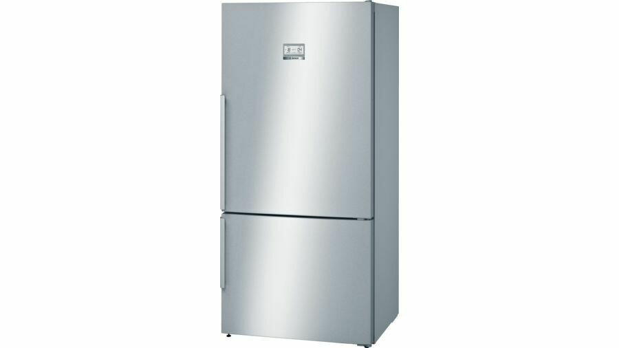 Serie | 6 Freestanding Fridge-freezer (Bottom freezer) 186 x 86 cm Stainless steel (with anti-fingerprint)