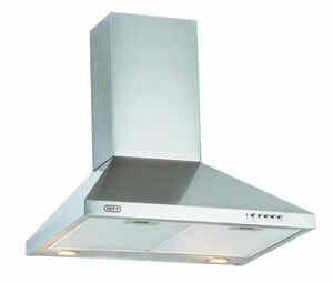 DEFY 75cm Premium chimney Extractor - Stainless Steel
