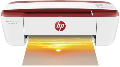 HP DeskJet Ink Advantage 3788 (RED) All-in-One Printer (T8W49C)