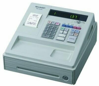 Sharp XE-A137-WH Cash Register