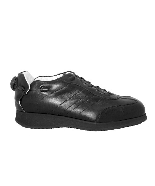 SMART - Black- Smooth lining - Rolling heel