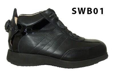 SMART BOOT - Black - Smooth lining - Rolling heel