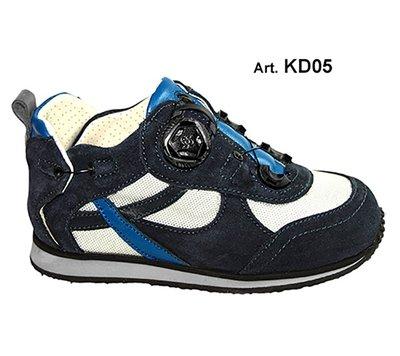 KID - blue/light blue - Fodera FORATA - Tacco Piatto