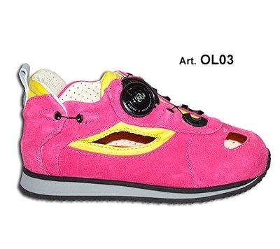 OLLY - yellow/pink - Fodera FORATA - Tacco Piatto
