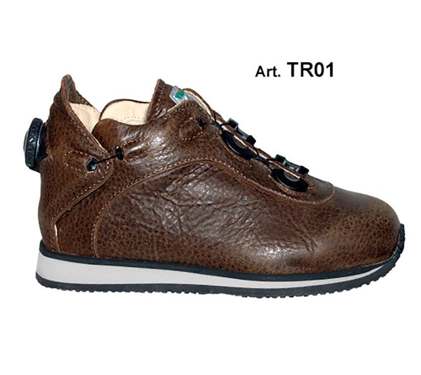 TREKKER - brown - Fodera LISCIA IMBOTTITA LANA - Tacco Piatto