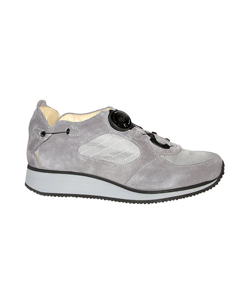 WALK - grey - Smooth lining - Rolling heel
