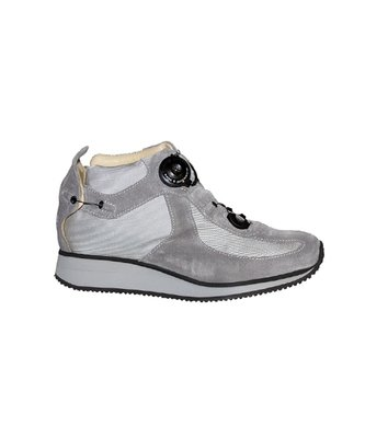 WALK BOOT - grey- Smooth lining - Rolling heel