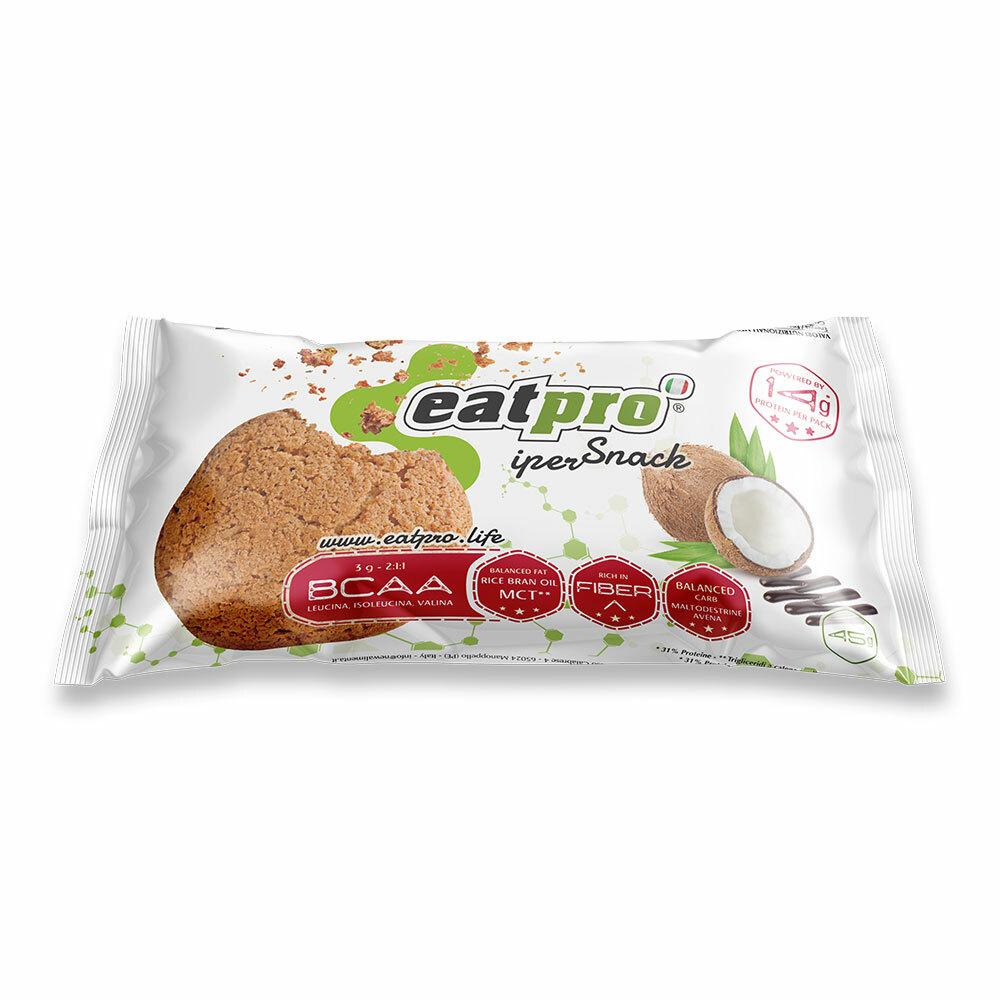 iperSnack al Cocco glassato al cacao, con BCAA 45g EP020