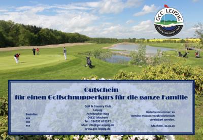 Golf-Schnupperkurs für die ganze Familie