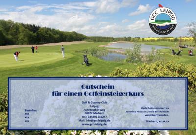 Golf-Einsteigerkurs für 1 Person