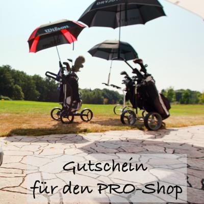 Einkaufsgutschein Pro-Shop