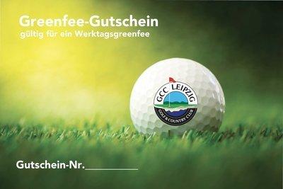 Greenfee-Gutschein Werktags