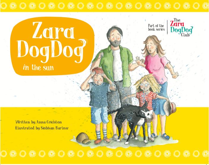 Zara DogDog in the sun