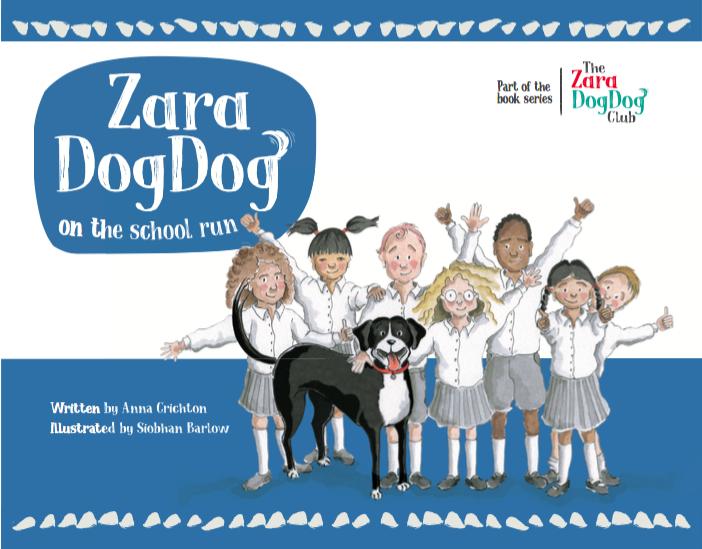 Zara DogDog on the school run