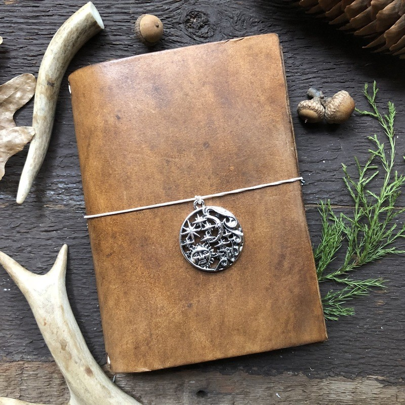 Brown Leather Planner
