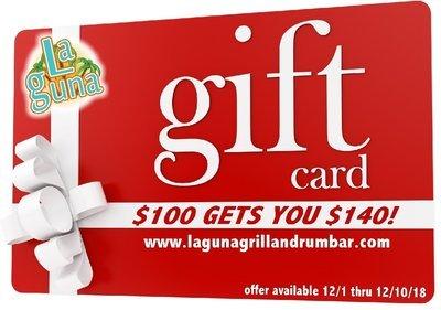 $140 Gift Card