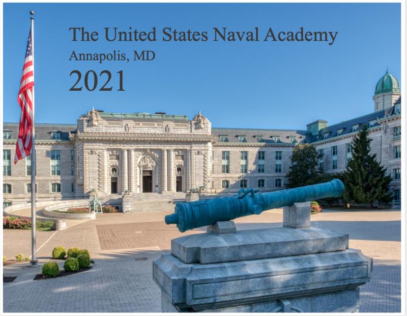 2021 Naval Academy Calendar
