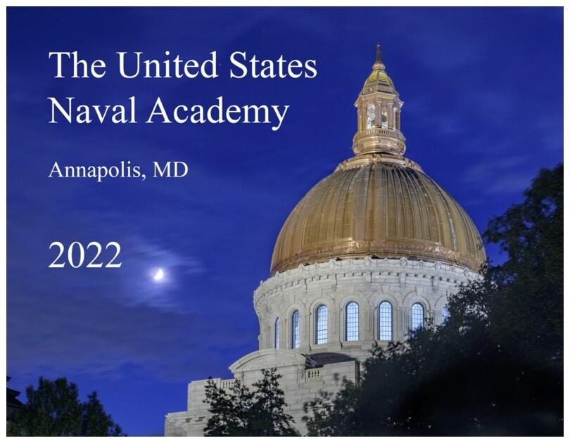 2022 Naval Academy Calendar