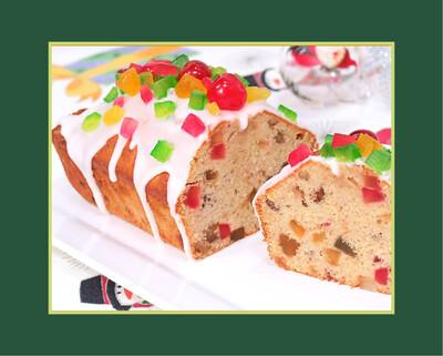 Cake lingote de navidad