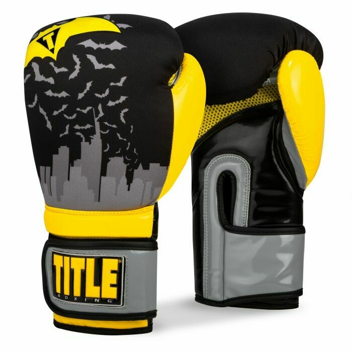 TITLE Infused Foam Crusader Boxing Gloves
