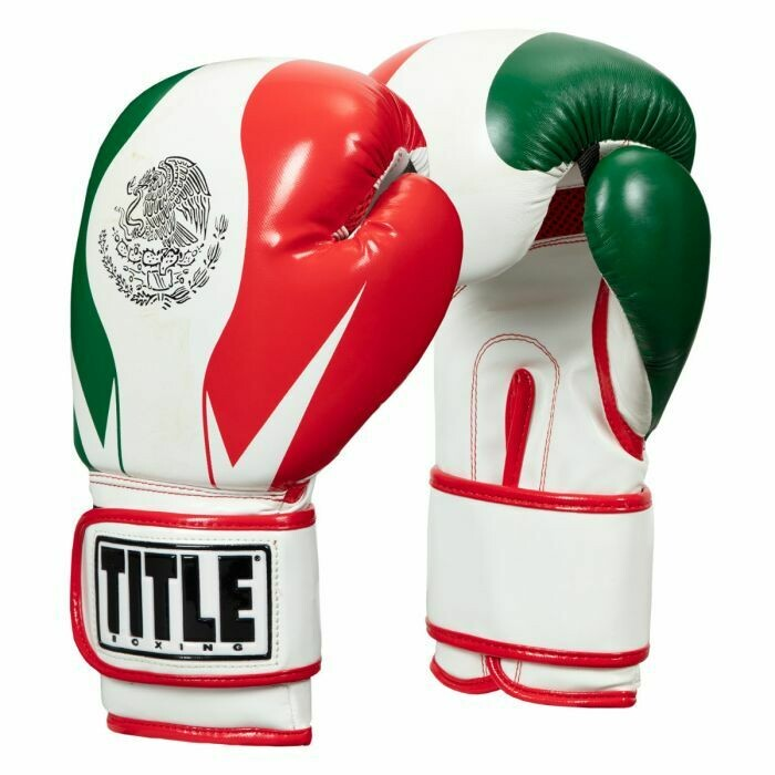 TITLE Closeout Infused Foam El Combate Mexico Training Gloves