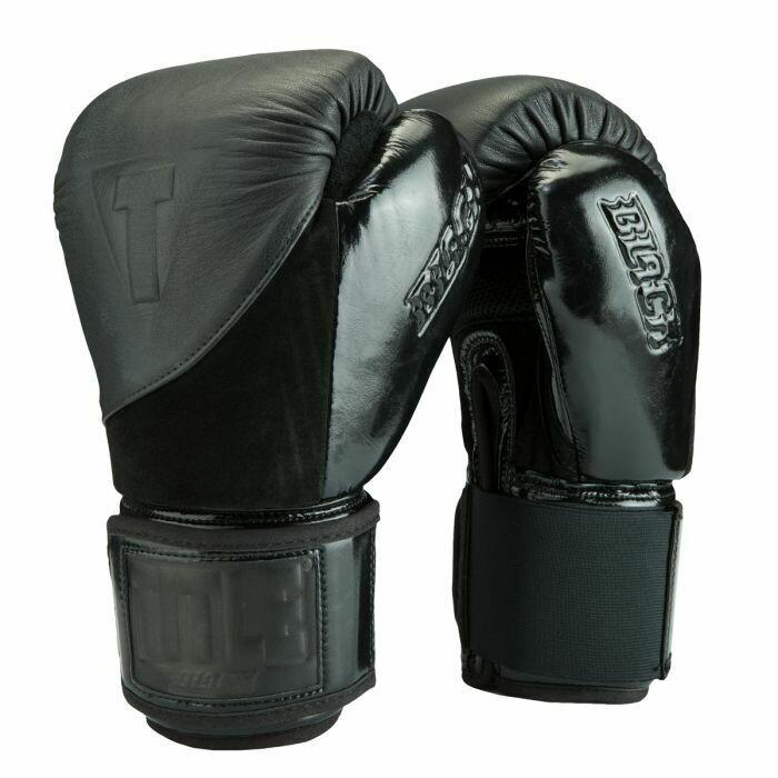 TITLE BLACK Blitz Fit Boxing Gloves