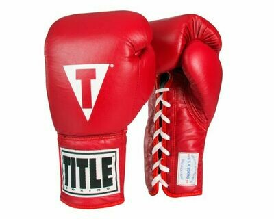 TITLE USA Boxing Competition Gloves - Lace