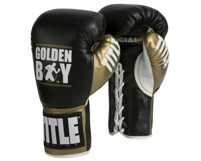 Golden Boy Fight Gloves
