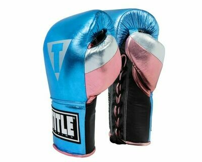 TITLE Boxing Luxury Pro Fight Gloves