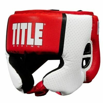 TITLE Aerovent Elite USA Boxing Competition Headgear – With Cheeks