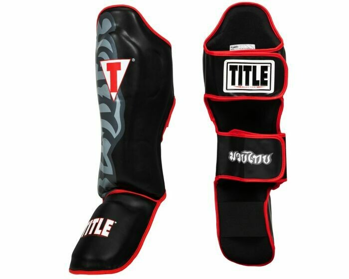 TITLE Muay Thai Shin & Instep Guards