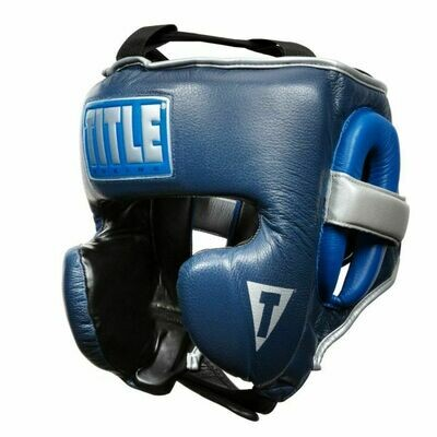 TITLE Boxing Royalty Leather Training Headgear